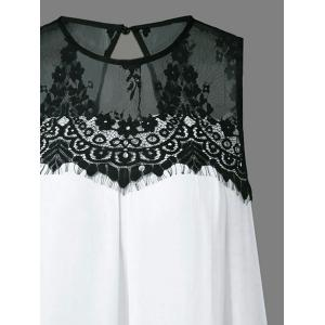 Lace Splicing Tent Dress -