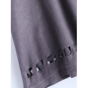 Hollow Out See Through T-Shirt -