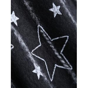 Long Sleeve Star Loose Fit Sweater -
