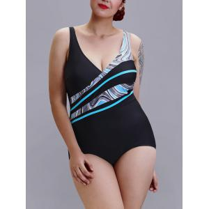 Plus Size One-Piece Swimsuit -
