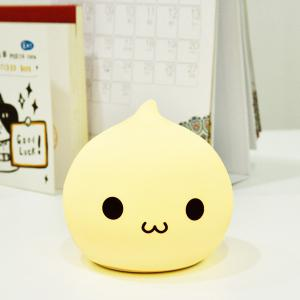 Colorful LED Silica Gel Cartoon Ombre Night Light - COLORFUL