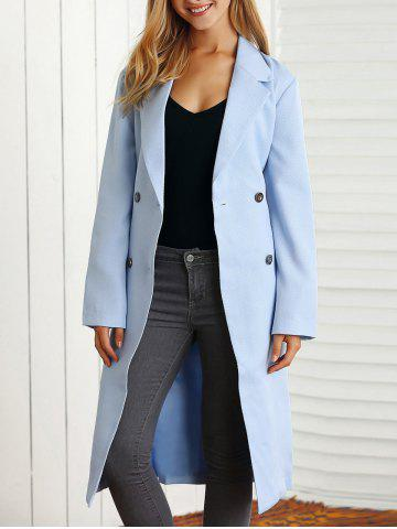 Fashion Belted Maxi Trench Coat