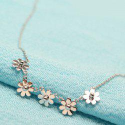Little Flowers Decorative Pedant Necklace -
