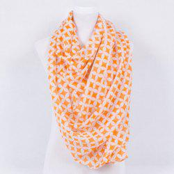 Retro Copper Cash Print Voile Shawl Wrap Scarf