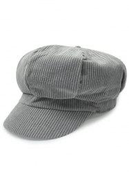 Outdoor Keep Warm Corduroy Newsboy Hat