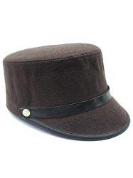 Casual Keep Warm Wool Belt Equestrian Hat