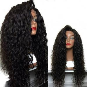 Long Curly Side Parting Lace Front High Temperature Fiber Wig -