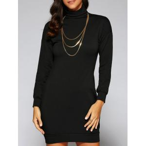 Turtle Neck Massimo Dress