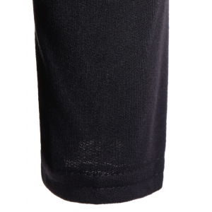 Patchy Sleeve Sequined Pocket Spliced Hoodie -