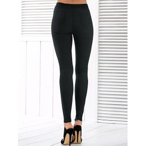 Taille haute Ripped Leggings -