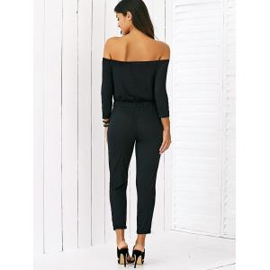 Chic Hole Design Drawstring Jumpsuit -
