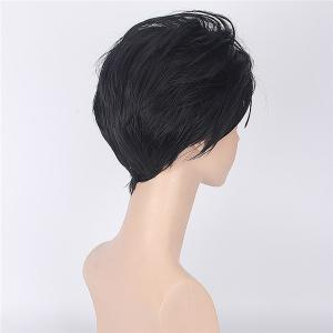 ReZero Subaru Natsuki Fluffy Short Anti Alice Hair Synthetic Costume Play Wig -