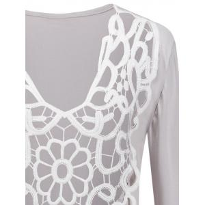 Two-Sides Wear See Through Crochet Top -