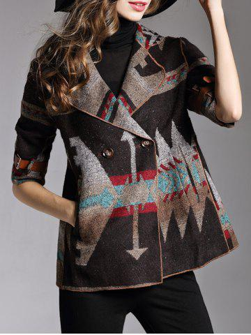 Best Two Button Printed Short Jacket