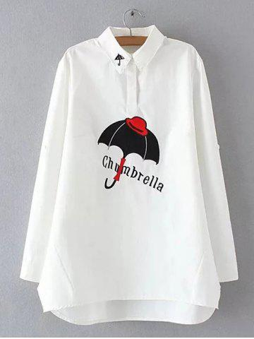 Outfits Polo Collar Embroidered Shirt