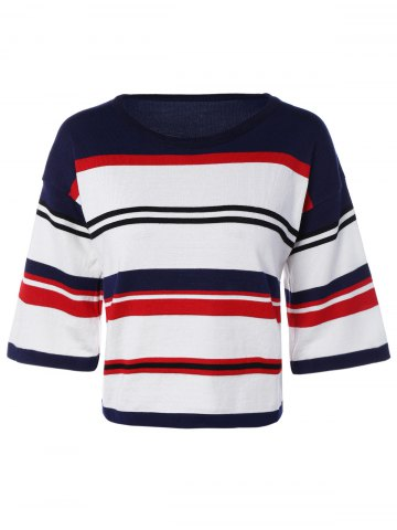 New Striped Pullover Knitwear