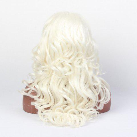 Latest Faddish Long Wavy Lace Front High Temperature Fiber Wig - COLORMIX  Mobile