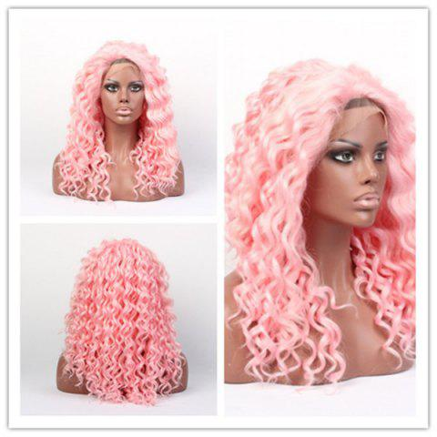 Hot Long Curly Lace Front Synthetic Wig