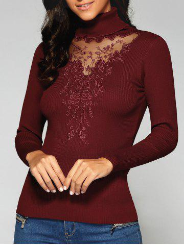 Chic Turtleneck Slim Fit Sweater