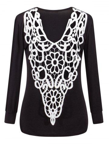Affordable Two-Sides Wear See Through Crochet Top