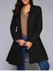 Cotton Long Skirted  Coat
