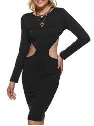 Backless Bodycon Dress -