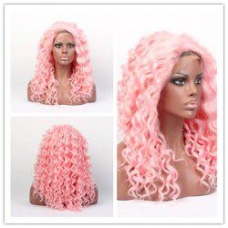 Long Curly Lace Front Synthetic Wig