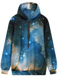 Front Pocket Hooded Galaxy Hoodie -