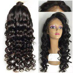 Long Wavy Lace Front High Temperature Fiber Wig -