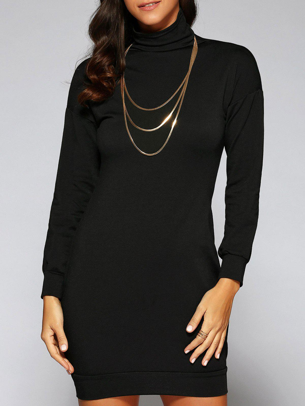Outfits Turtle Neck Massimo Dress