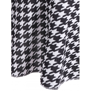 Houndstooth Mermaid Skirt -