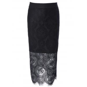 Bodycon Lace Skirt -