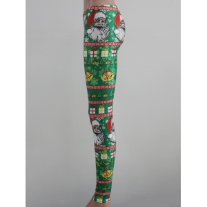 Tight Fit Christmas Leggings -