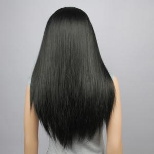 Long Straight Lace Front Synthetic Wig -