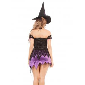 Lace Up Cartoon Characters Cosplay Suit -