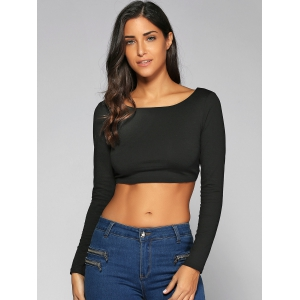 Fitting Lace-Up Crop Top -