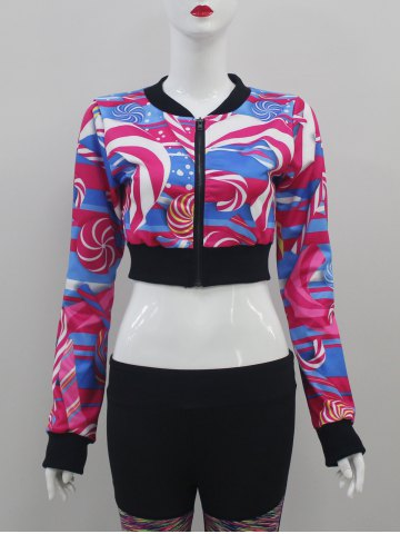 Hot Zip Up Crop Jacket