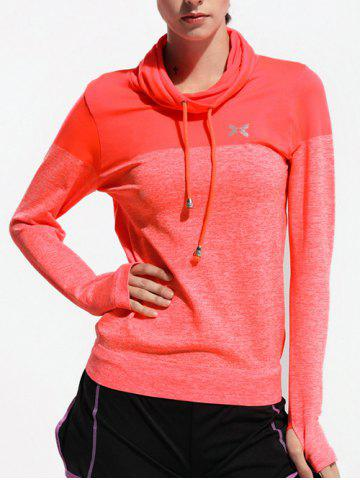 Outfits Quick Dry Drawstring Sports Running T-Shirts