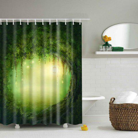 Fancy Fantastic Natural Fairyland Mouldproof Shower Curtain