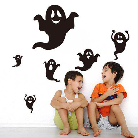 Affordable Ghost Halloween Room Background Vinyl Wall Stickers Custom