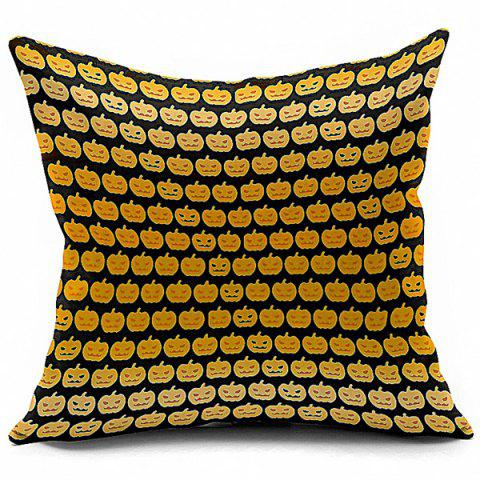 Fancy Funny Halloween Pumpkins Printed Pillow Case