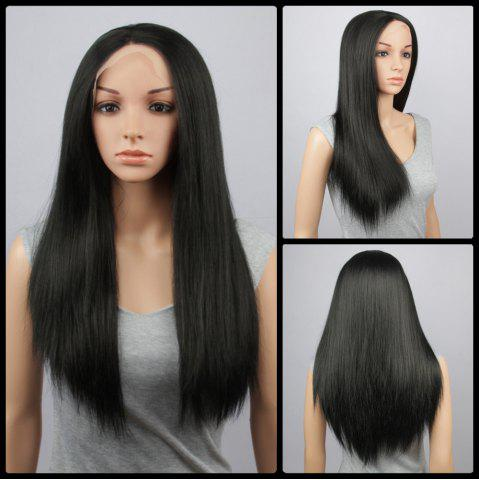 Outfit Long Straight Lace Front Synthetic Wig
