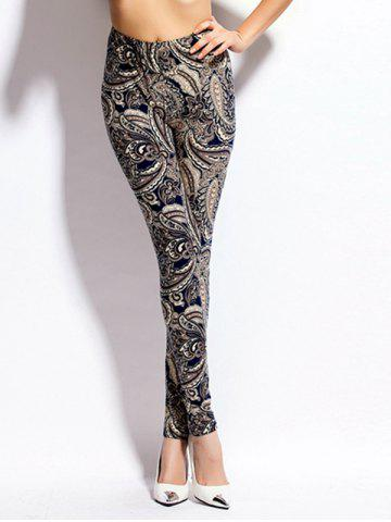 Shop Paisley Print Skinny High Waist Leggings