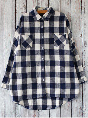 Chic Checked Casual Shirt