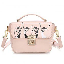 Animal Printing Crossbody Bag -