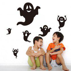 Ghost Halloween Room Background Vinyl Wall Stickers Custom