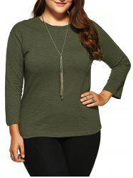 Plus Size Long Sleeves T-Shirt
