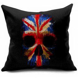 High Quality Skeleton Printed Pillow Case -