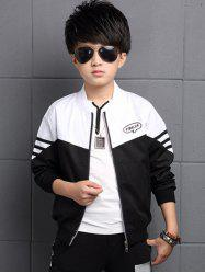 Zipper Fly Kids Jacket -