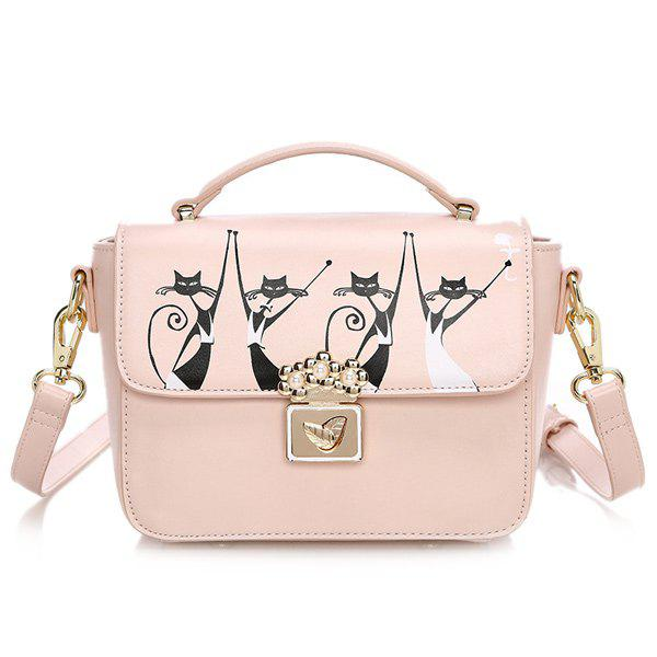 Cheap Animal Printing Crossbody Bag